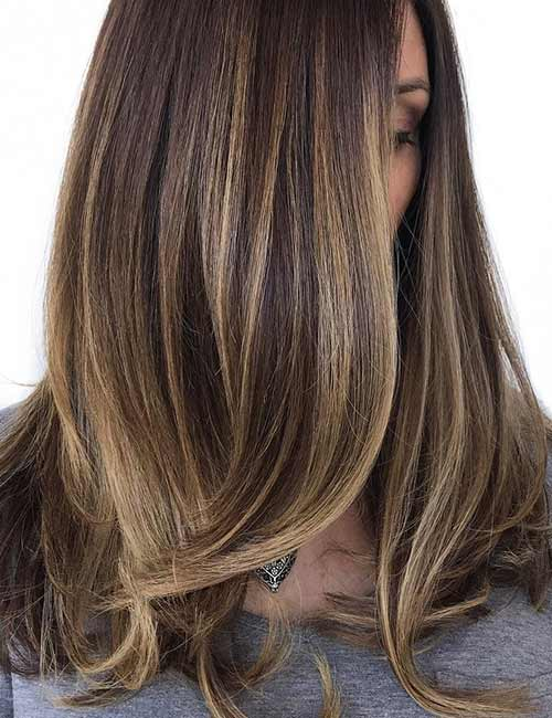 Braun ombre haarfarbe blond Ombré selber
